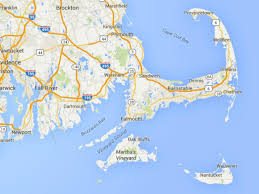 maps of cape cod martha's vineyard and nantucket