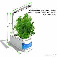 indoor hydroponic herb garden kit lamp desk lamp for reading smart fresh herb garden hydroponics led growing system visible blue window indoor growing