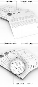 modern resume templates psd mockups bies graphic print ready resume cover letter psd template
