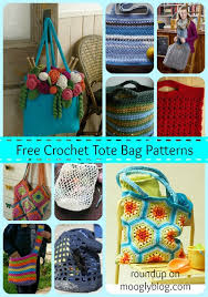 Free Tote Bag Patterns Magnificent Carry It All With 48 Free Crochet Tote Bag Patterns Moogly