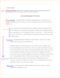 Annotated bibliography on