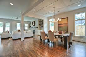 recessed lighting dining room. Modern Electric Stove Recessed Lighting Dining Roommodern Black Metal Base Counter Kitchen Dinette Contemporary Style Small Ideas The Brown Wooden Room