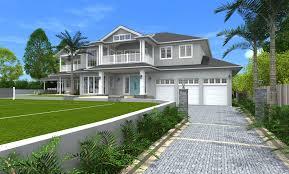 Hampton Style Home Designs Nsw Architect Design 3d Concept Hamptons Style St Ives Sydney