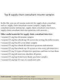 Supply Chain Consultant Cover Letter - Sarahepps.com -