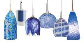 blue light fixtures kitchen light mini pendant track