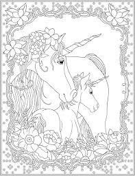 Unicorn Coloring Page Unicorn Magic Unicorn Coloring Pages