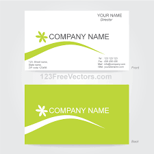 illustrator business card template business card template illustrator 123freevectors