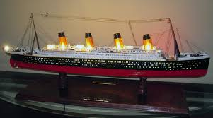 Titanic Model With Led Lights Titanic Lighting Kit