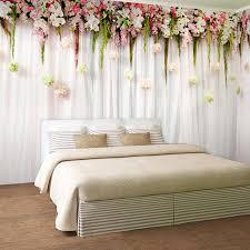 <b>Custom 3D Photo Wallpaper</b> European Style Rose Flower Living ...
