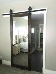 image great mirrored bedroom. a barn door sliding mirror such great idea image mirrored bedroom