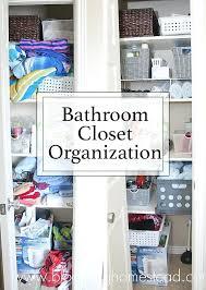 bathroom closet organization ideas. Wonderful Bathroom Bathroom Closet Organization Linen Makeover Cupboard  Ideas Inside Bathroom Closet Organization Ideas L