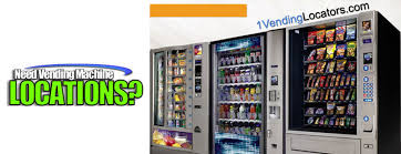 Vending Machines Locator Service