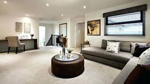 center table decor ideas modern open plan living room design plus round black coffee table for