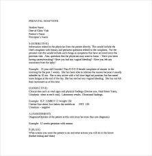 How To Write A Soap Note Soap Note Template 9 Free Word Pdf Format Download Free