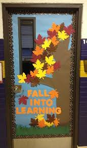 images of fall door decorations