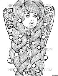 Printable Girls Coloring Pages Girl Printable Coloring Pages Boy And