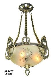 bowl pendant chandelier vintage hardware lighting antique ceiling bowl pendant light fixture circa ant alabaster bowl