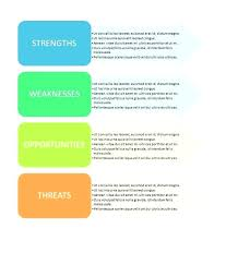 Swot Analysis Table Template Powerful Swot Analysis Templates Examples Template Form Strategy