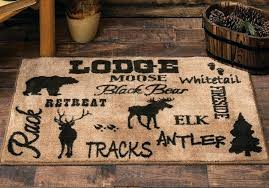impressive rustic cabin area rugs home decorating idea country interiors decor old cabins kitchens for lodge rustic area rug