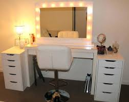 makeup vanity with led lights. makeup vanity led light kit incredible mirror awesome with lights