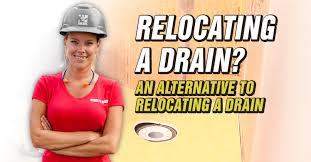 an alternative to relocating a drain