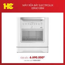 Siêu Thị Điện Máy HC - Máy rửa bát Electrolux ESF6010BW: Giá hơn 6 triệu mà  #xịn ra trò, sắm ngay để Tết này #nhàn tênh đỡ việc ♻️ Máy rửa bát