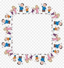 free clipart of a square frame made of stick family cadre solidarité 83327