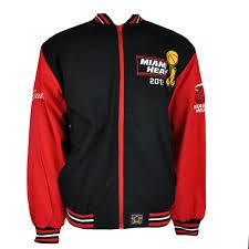 Jh Design Nba Jackets Nba Miami Heat Champions 2012 Jh Design Two Tone Lightweight Men Adult Jacket Ebay