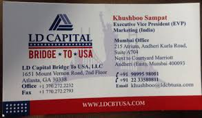 visiting card ld capital photos andheri east mumbai visa istance for usa
