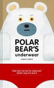 polar bear has lost his underwear