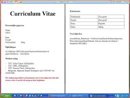 7 curriculum vitae of student event planning template cv voorbeeld student afbeeldingen cv voorbeeld student