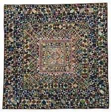 Bertha Neiden of Lincoln, NE, made this 10,222-piece quilt between ... & Medallion Quilt Made by Bertha Neiden, Lincoln, NE International Quilt  Study Center, Gift of Max Neiden and Sylvia Jacobs, Adamdwight.com
