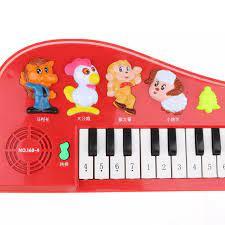 Darling Baby Bàn Phím Điện Tử Đa Năng 14 Phím Đàn Piano Âm Nhạc Cụ Đồ Chơi  Cho Bé