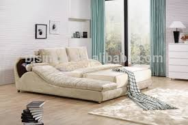 chaise lounge bed. Contemporary Lounge Modern Fabric Double Bed With Chaise Lounge Throughout D