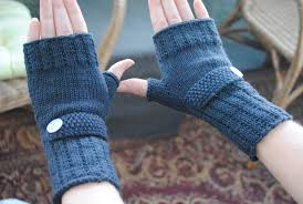 Free Fingerless Gloves Knitting Pattern Magnificent Free Optimistic Mitt Pattern For Making's Sake