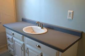 painted bathroom countertops painted bathroom vanity and with