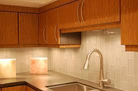 kitchen glass backsplash. Light Wooden Cabinet Glass Ceramic Tile Backsplash Undermount Stainless Steel Kitchen Sink
