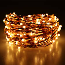 Warm White Light String 20m 200 Led Outdoor Christmas Fairy Lights Warm White Copper Wire Led Starry Lights String Light Power Adapter Uk Us Eu Au Plug