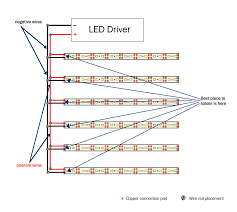 how to install under stair lighting 1000bulbs com blog Wiring Diagram Led Strip Lights many brands of led strip lights have a sticky tape backing for easy placement if your strip light doesn't have a tape backing, you can use strip light wiring diagram for led strip lights