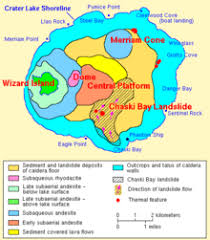 Wizard Lake Depth Chart Wizard Island Wikipedia