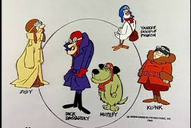 dastardly and muttley in their flying