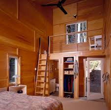 Ceiling Beds Bedroom Loft Bed For Teens Be Equipped With Wood Paneling And