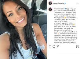 Carolina Marconi inizia la chemioterapia: Avevo paura, con i vostri  messaggi mi sento meno sola