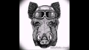 эскизы тату свинья примеры рисунков для тату с кабаном