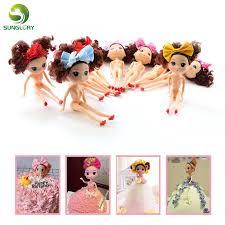 Plastic Bobbi Doll Cake Mold Toppers Fondant Bobbi Dress Cake Doll ...