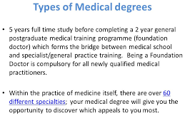 Medical Degrees Applying For A Degree In Medicine 2014 Entry Ppt Video Online