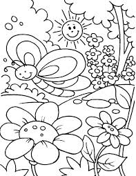 Coloring Pages Of Spring Pilgrim Cut Out Patterns Spring Bugs