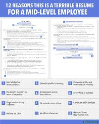 resume examples s resume format s resume samples s cv resume examples terrible resume for a mid level employee business insider s resume format s