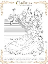 Small Picture Free Cinderella Coloring Pages Children Coloring Coloring