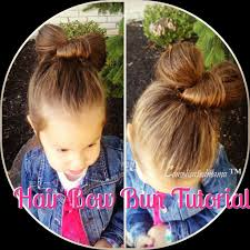 How To Make A Hair Style how to make a hair bow bun video tutorial everyday cori nj 7588 by wearticles.com